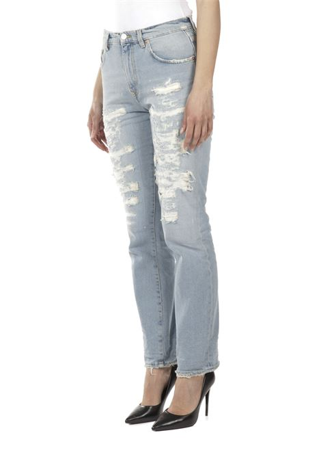 Jeans con rotture GRIFONI | Jeans | GI242011R/88M16