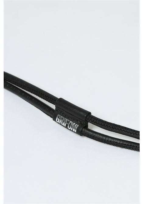 Cintura laccio GRIFONI | Cinture | GI290002/49NERO