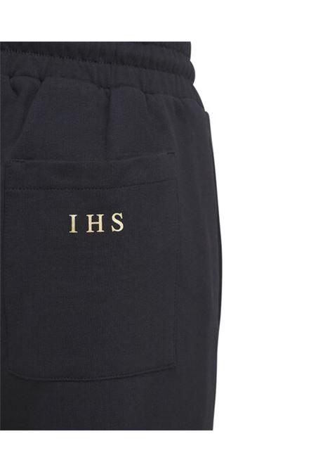 Pantalone con stampa in oro IHS   Pantalone   JF03S999