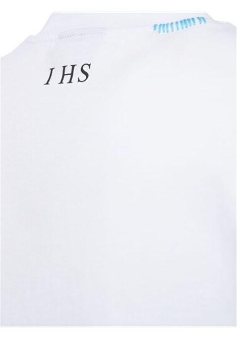 T-shirt con stampa IHS   T-shirt   TE01100