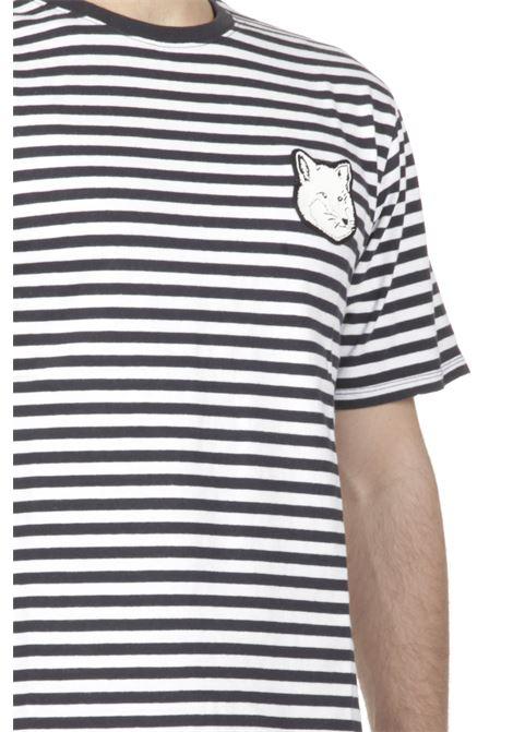 T-shirt motivo a righe MAISON KITSUNE' | T-shirt | GU00148KJ0072