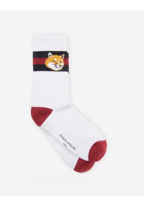 MAISON KITSUNE' | Socks | GU06420K T0045BIANCO