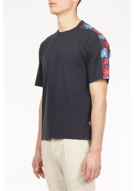 T-shirt fantasia fiori MARNI | T-shirt | HUMU0009Q0STJ324 B