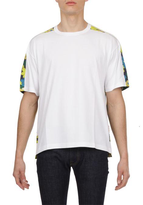 T-shirt fantasia fiori MARNI | T-shirt | HUMU0009Q0STJ324