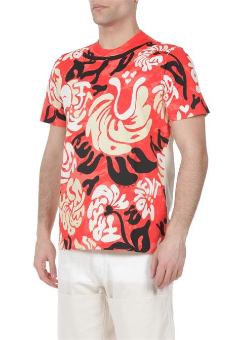 T-shirt con stampa MARNI | T-shirt | HUMU0221P0S23727
