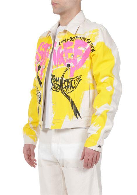 Jacket con stampa multicolor MARNI | Jacket | JUJU0020P0S30747