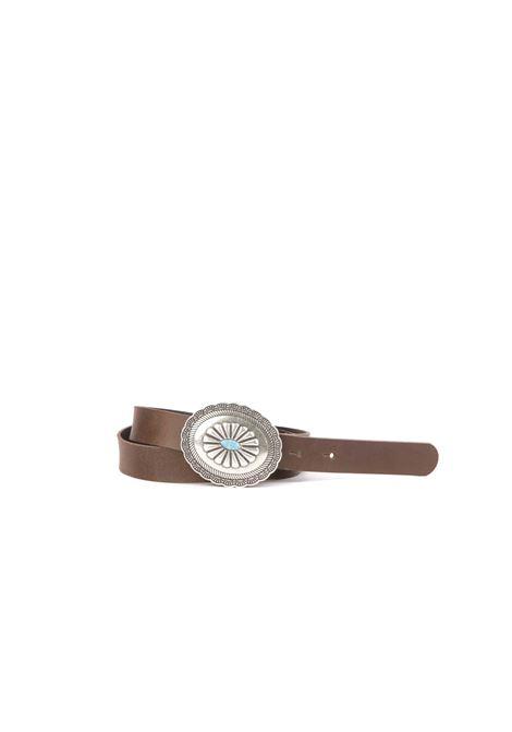 Cintura con fibbia MERCI | Cinture | CINT26MORO