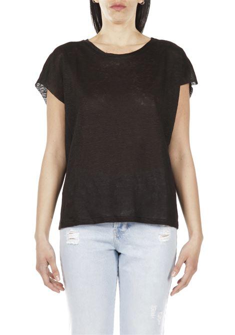T-shirt giromanica MERCI | T-shirt | MM197PNERO