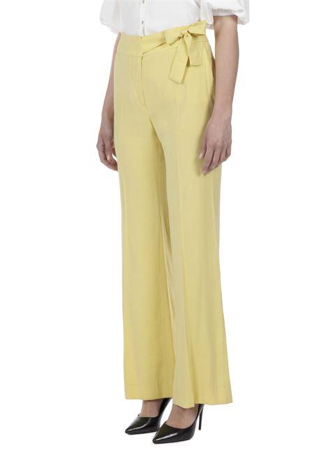Pantalone a palazzo MERCI | Pantalone | P215ULEMON