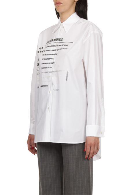 Camicia con scritte MM6 MAISON MARGIELA | Camicia | S52DL0149-S47294100