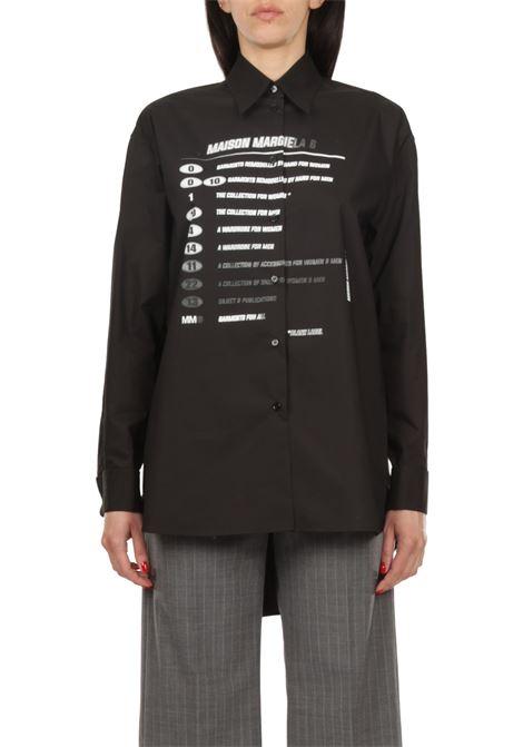 Camicia con scritte MM6 MAISON MARGIELA | Camicia | S52DL0149-S47294900