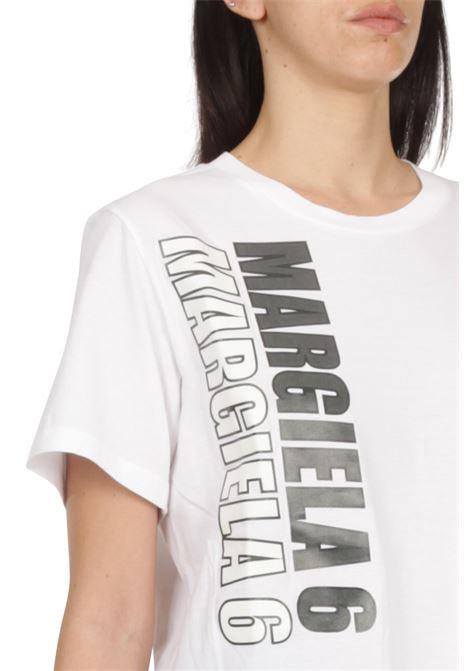T-shirt con scritta MM6 MAISON MARGIELA | T-shirt | S52GC0177-S23588100