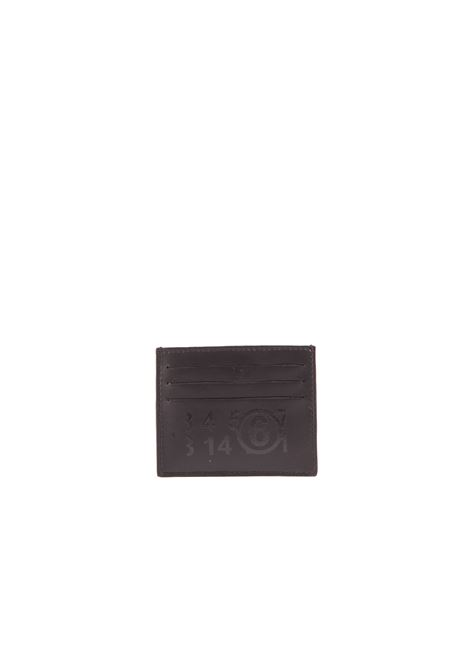 Portacarte in pelle MM6 MAISON MARGIELA | Portacarte | S54UI0129-P3993T8013