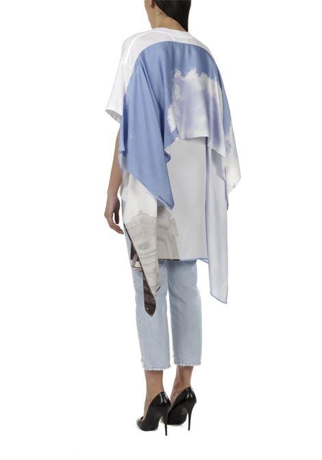 T-shirt con foulard MM6 MAISON MARGIELA | T-shirt | S62GD0081-STJ3S8962