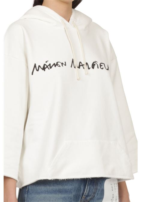Felpa con cappuccio MM6 MAISON MARGIELA | Felpa | S62GU0046-S25337101