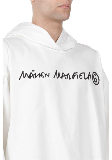 Felpa con logo MM6 MAISON MARGIELA | Felpa | S62NC0066 S30653101