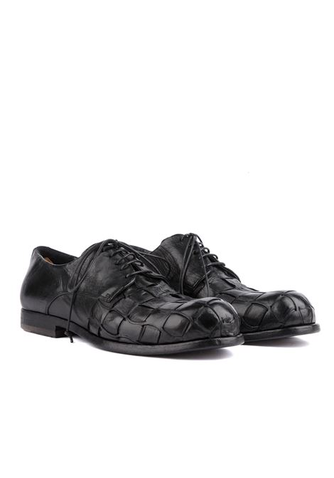 Scarpa bassa OPEN CLOSED | Scarpe | GLUCK 14NERO
