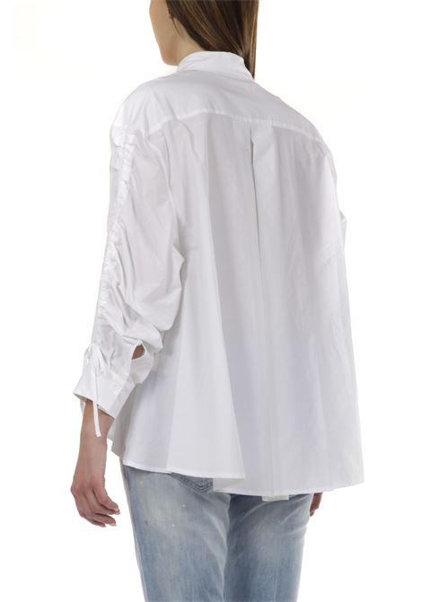 Camicia oversize OTTODAME | Camicia | DC4481BIANCO