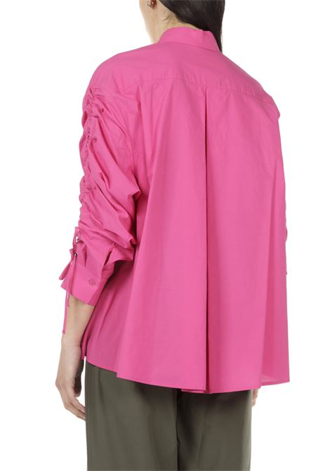 Camicia oversize OTTODAME | Camicia | DC4481FUXIA