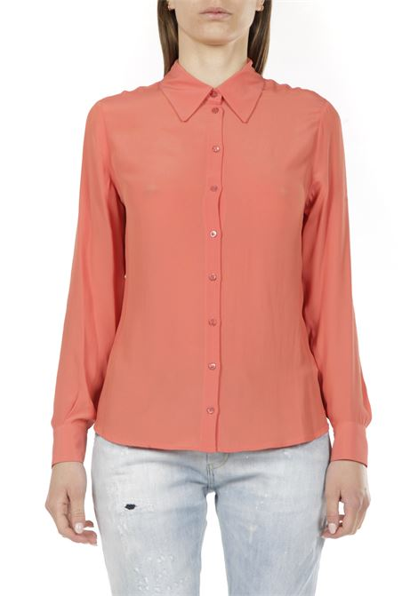 Camicia in seta OTTODAME | Camicia | DC4482PAPAYA
