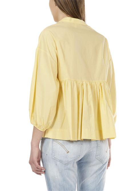 Camicia con laccio OTTODAME | Camicia | DC4485BANANA