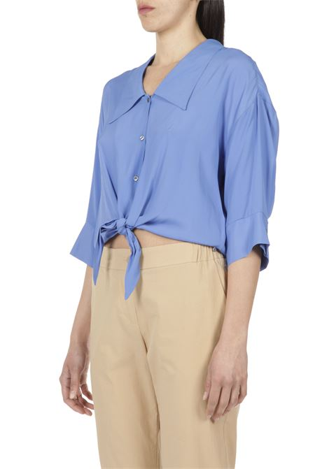 Camicia con nodo OTTODAME | Camicia | DC4488MARINA