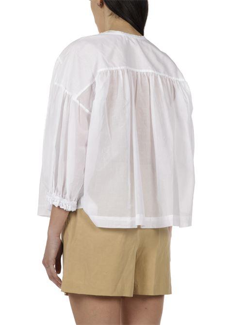 Camicia garzata OTTODAME | Camicia | EC4303BIANCO