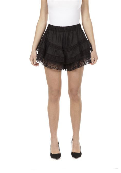 Short in pizzo PNK | Short | P11NERO