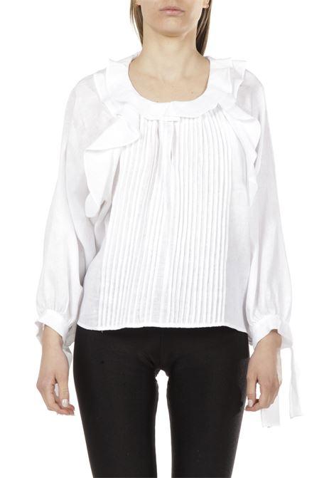 Camicia oversize PNK | Camicia | T08BIANCO