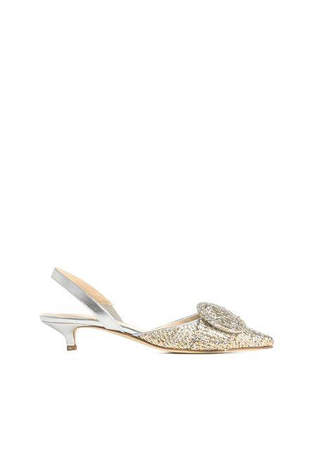 Sandalo intrecciato PROSPERINE | Scarpa | 8111ORO