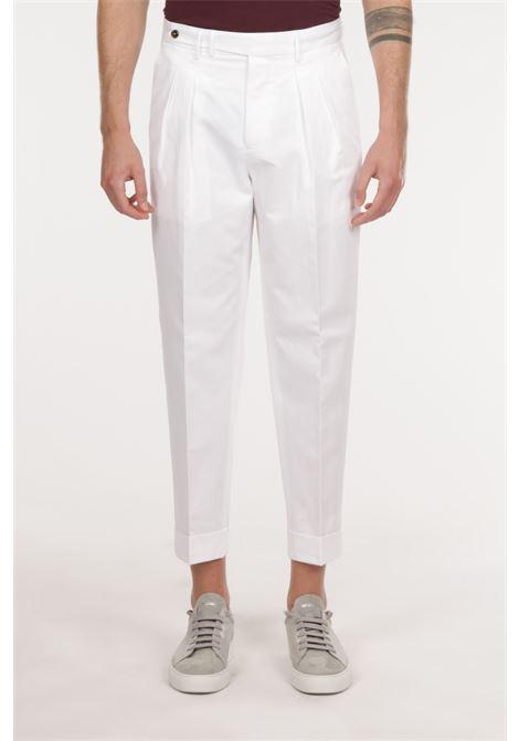 Pantalone con pince PT TORINO | Pantalone | ZSCLZ00CUBBP44 0010