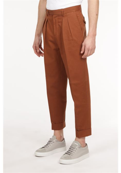 Pantalone con pince PT TORINO | Pantalone | ZSCLZ00CUBBP44 0177