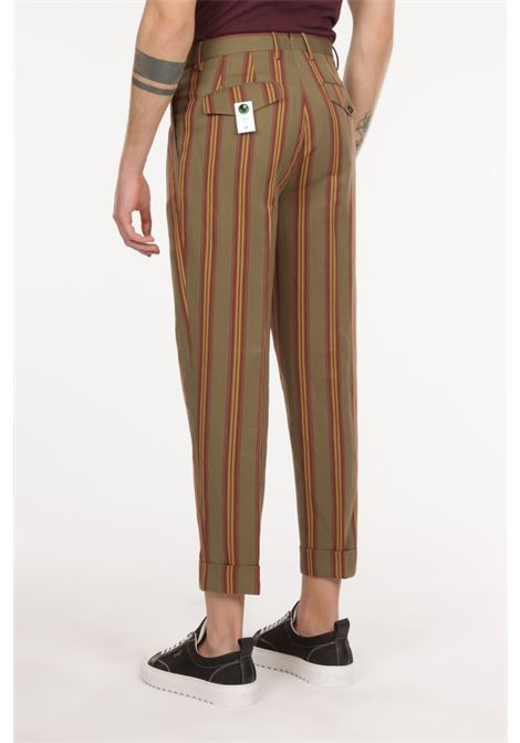 Pantalone motivo a righe PT TORINO | Pantalone | ZSCLZ00CUBMP54 0445