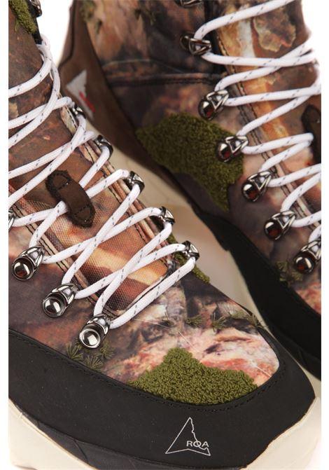 Sneakers alta ROA | Scarpe | VAR 003 ANDREASCAMOUFLAGE