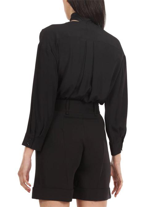 Camicia a body SIMONA CORSELLINI | Body | P21CPBD005-01-TACE0002BIANCO