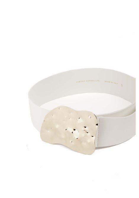 Cintura con fibbia SIMONA CORSELLINI | Cinture | P21CPCIJ02-01-C0100004BIANCO