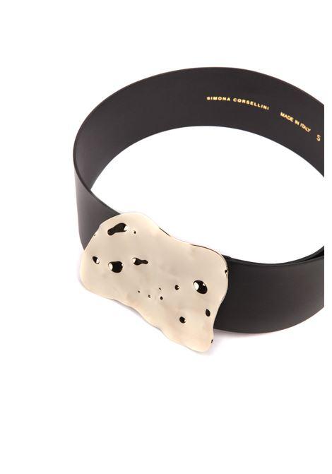 Cintura con fibbia SIMONA CORSELLINI | Cinture | P21CPCIJ02-01-C0100004NERO