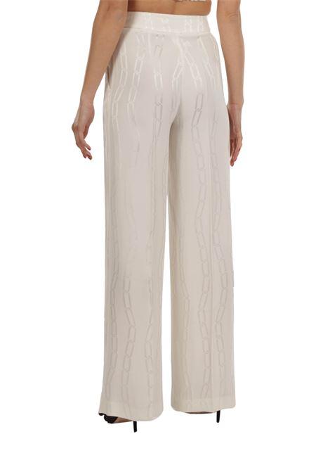Pantalone a palazzo SIMONA CORSELLINI | Pantalone | P21CPPA032-01-TJAQ0020BIANCO