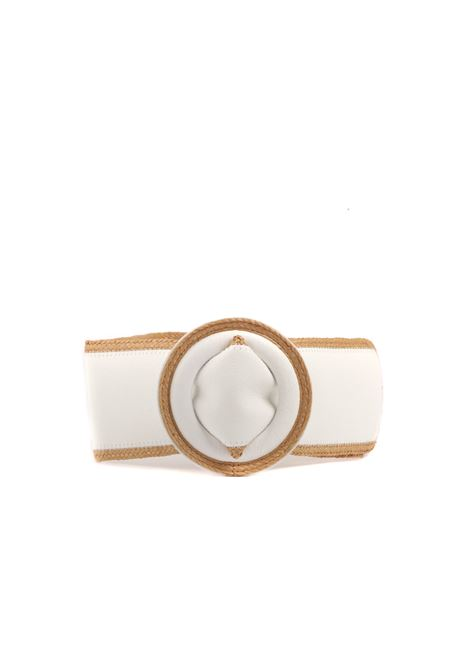Cintura con profili SUOLI | Cinture | S3319003BIANCO