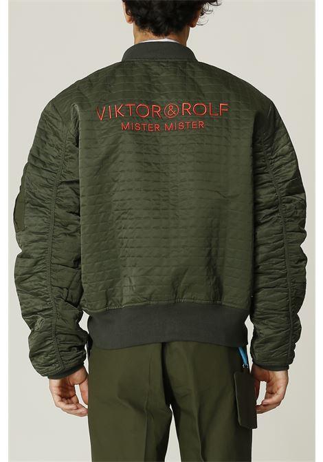 Bomber con logo sul retro VIKTOR & ROLF   Bomber   MOU32VERDE
