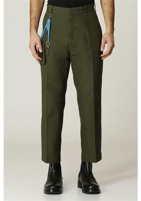 Pantalone con pochette VIKTOR & ROLF   Pantalone   MPA26VERDE