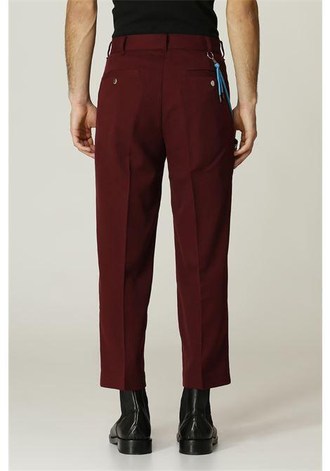 Pantalone con pochette VIKTOR & ROLF   Pantalone   MPA27BORDO