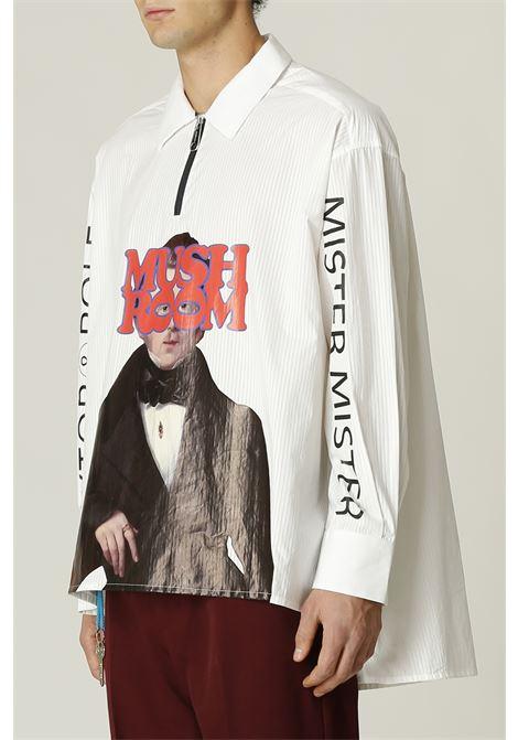 Camicia con stampa VIKTOR & ROLF   Camicia   MSH35BIANCO
