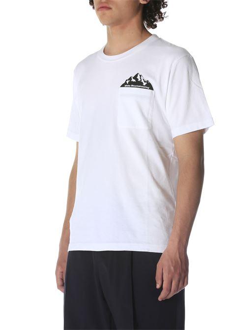 T-shirt con logo WHITE MOUNTAINEERING | T-shirt | WM2171504WHITE