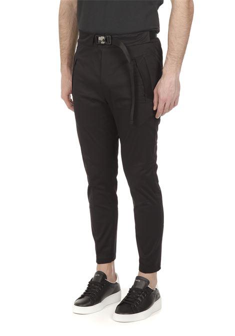 Pantalone con cintura WHITE OVER | Pantalone | PA/00403NERO