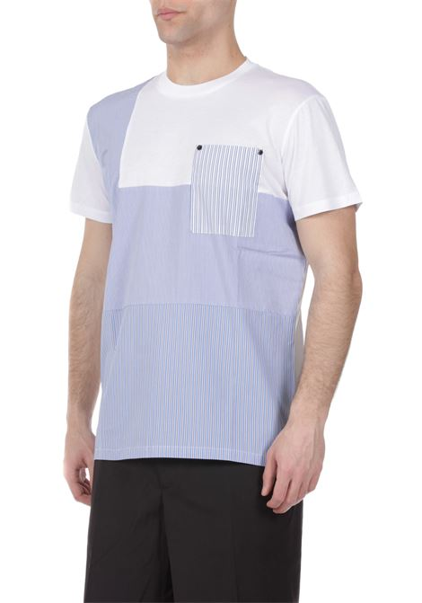 T-shirt mitivo a righe WHITE OVER | T-shirt | TS/00101AKORY