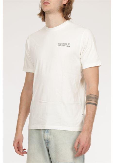 T-shirt con logo WOOD WOOD | T-shirt | 12115712-24910005