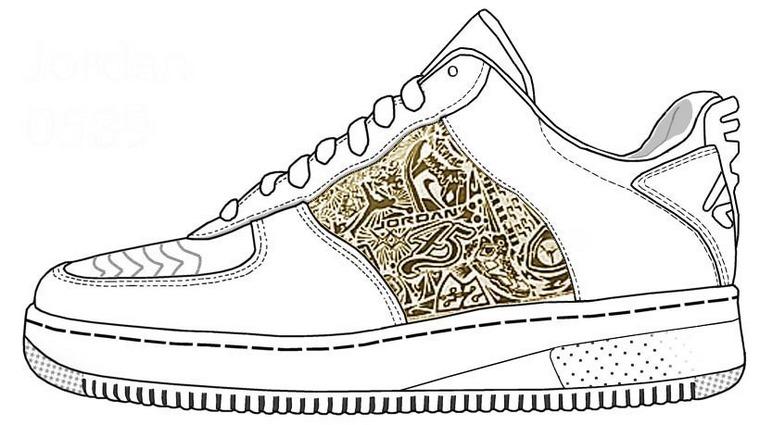 Jordan Nike Template ReQuest