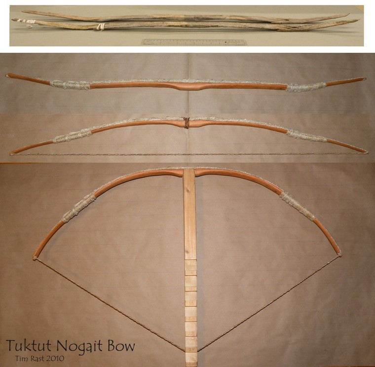 First Bow - Western Yew, Sinew Cable Backed - PaleoPlanet