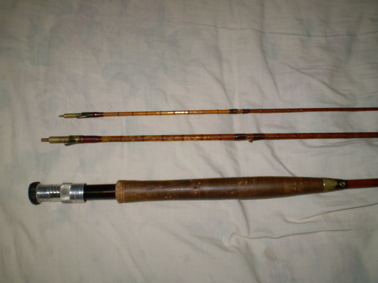 Hardy bamboo fly rod